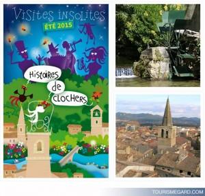 histoire et visite insolites dans le Gard